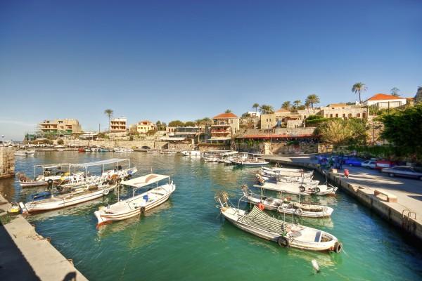 Hafen von Byblos, Libanon
