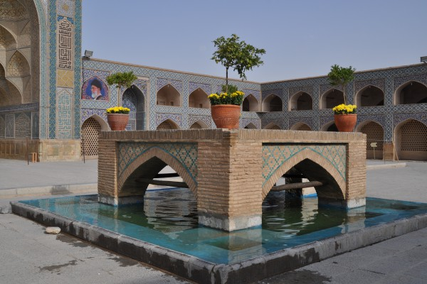 Jameh Freitagsmoschee in Isfahan, Iran