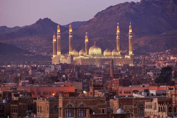 Sanaa, Hauptstadt von Yemen