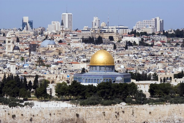 Altstadt von Jerusalem mit Felsendom, Israel