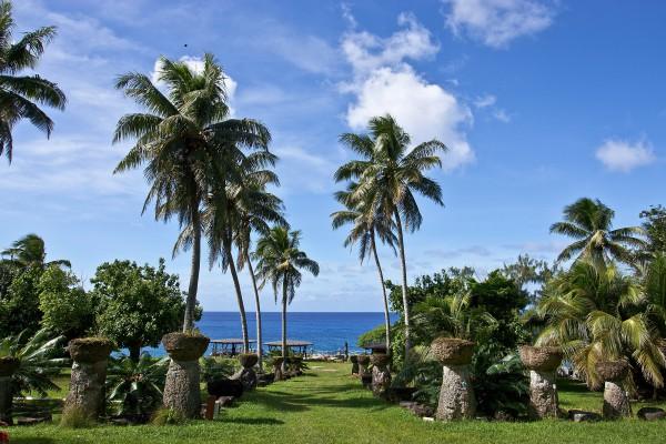 Park auf Rota Island, Nördliche Marianen, Mikronesien