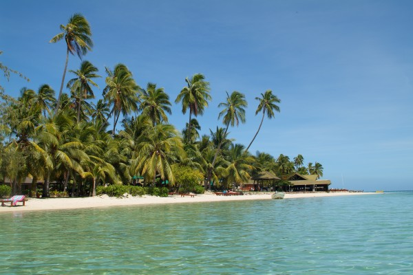 Strand auf Manolo Lailai, Fiji Inseln