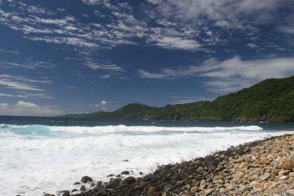 Vatia Bay auf Tutuila Island, Amerikanisch Samoa