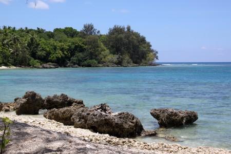 Strand der Insel Efate, Vanuatu, Melanesien