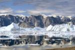 Eisberge in Nordost Grönland