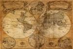 Alte Karte von 1746