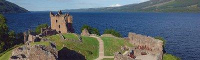 Schottland - Urquhart Castle, Loch Ness