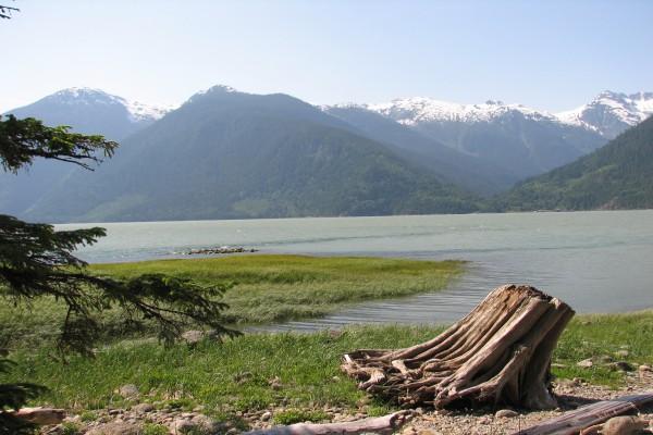 Bella Coola Fjord, British Columbia
