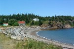 The cove on Grand Manan NB