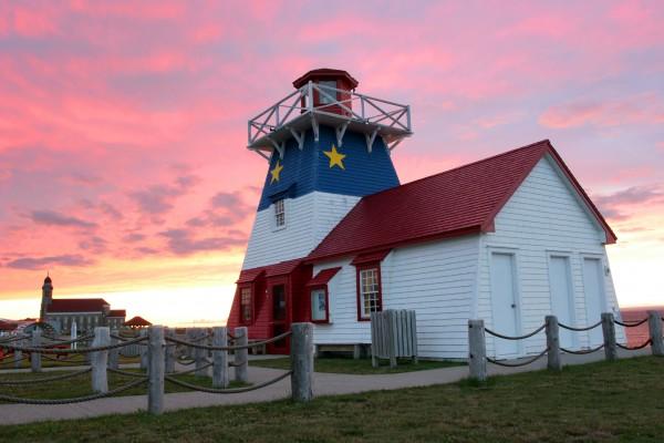 Grande Anse Lighthouse, New Brunswick