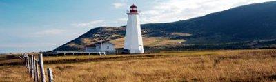 Atlantik Kanada - Cape Anguille Leuchtturm, Neufundland, Kanada