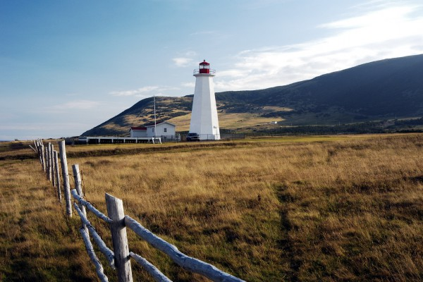 Cape Anguille Leuchtturm, Neufundland, Kanada