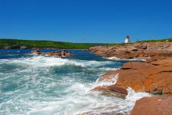 Cape Breton Leuchtturm, Nova Scotia