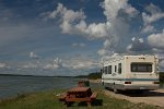Motorhome bei Fort Providence