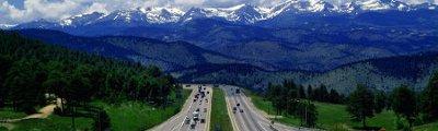 Vereinigte Staaten von Amerika - Highway 70 ab Denver