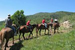Reiten in den Rockies