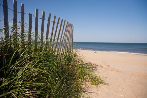 Strand an der Atlantikküste