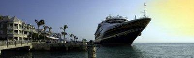 Florida - Kreuzfahrtsschiff in Key West