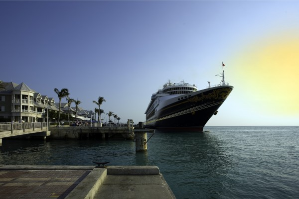 Kreuzfahrtsschiff in Key West