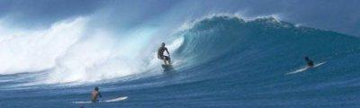 Hawaii - Surfers in der Nähe von Maui