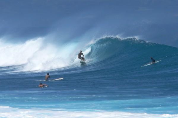 Surfers in der Nähe von Maui