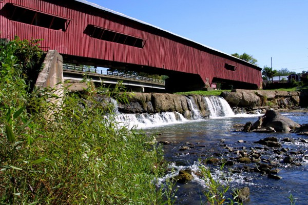 The Bridgeton Covered Bridge