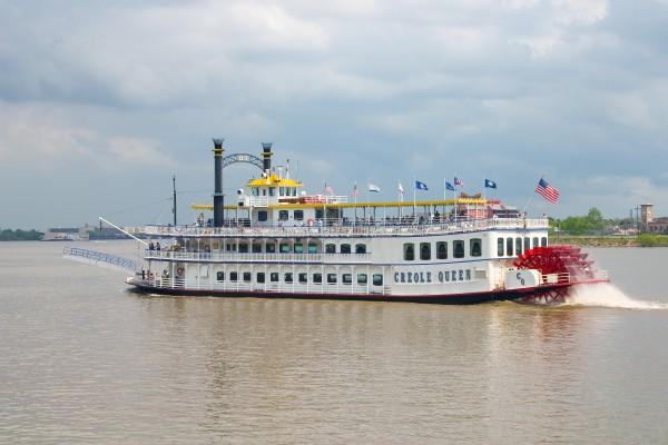 Schaufelraddampfer Creole Queen, Mississippi