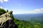 Blowing Rock, Blue Ridge Parkway in North Carolina