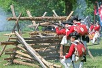 The enactment - The Battle of Monmouth, New Jersey