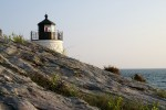Castle Hill Lighthouse in Newport, Rhode Island