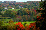 Indian Summer in Vermont, USA