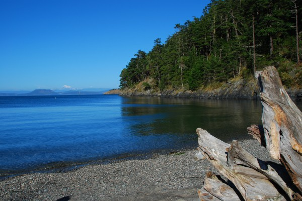 San Juan islands. Lopez Island, Washington State