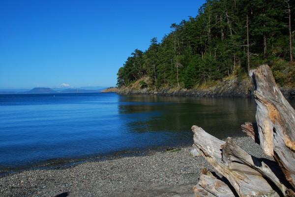 San Juan islands. Lopez Island, Washington State