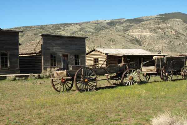 Old western Town, Wyoming